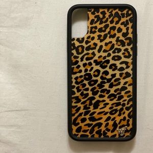 Cheetah wildflower case for iPhone X/XS